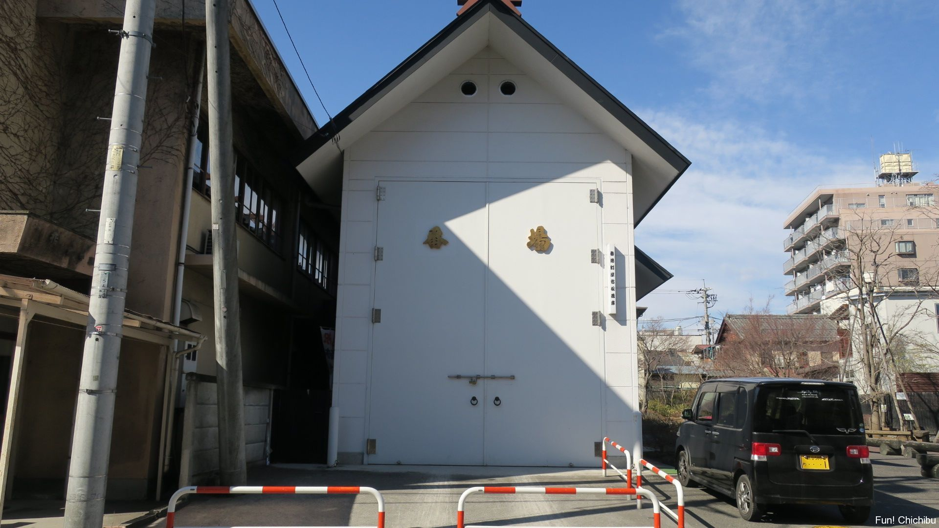 笠鉾、屋台の蔵