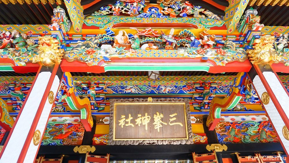 三峯神社の社殿