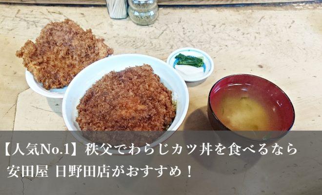 わらじカツ丼 安田屋 日野田店