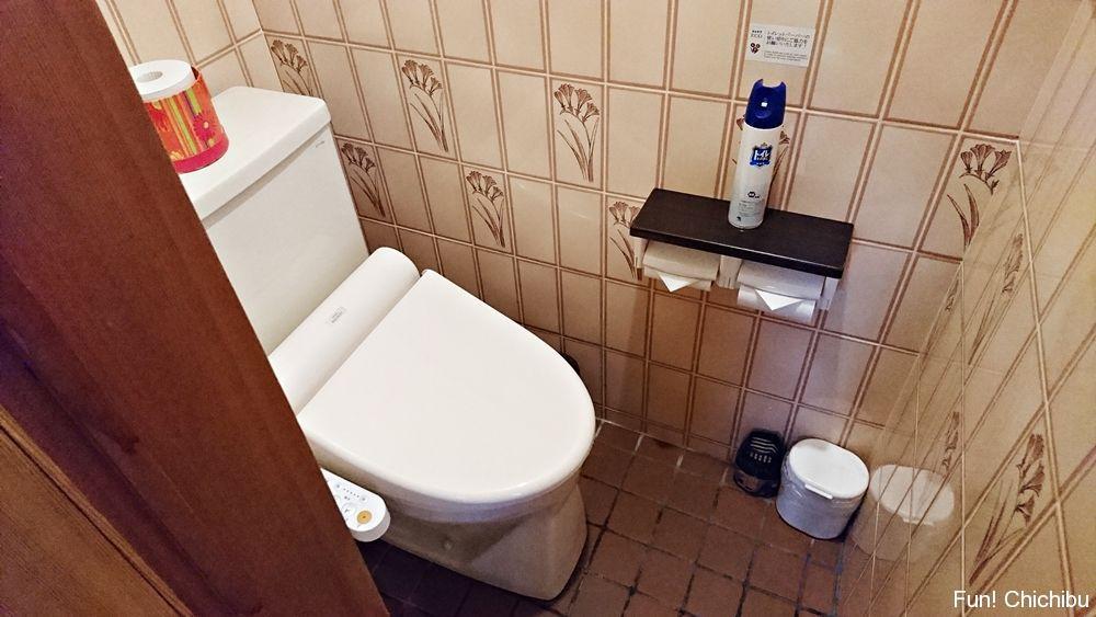 せせらぎの間のトイレ