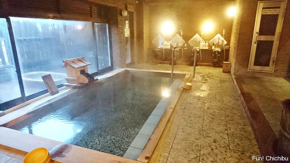 新木鉱泉旅館 大浴場