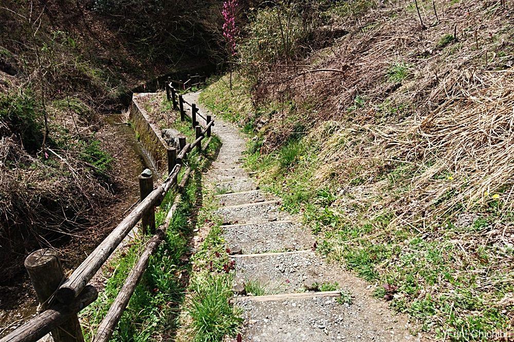 和銅遺跡入り口の階段