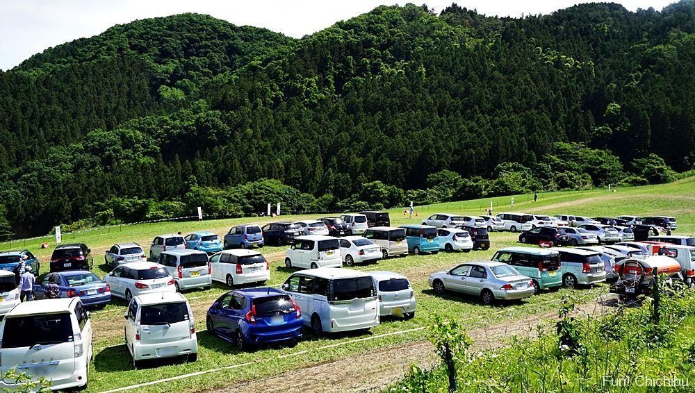天空のポピー駐車場