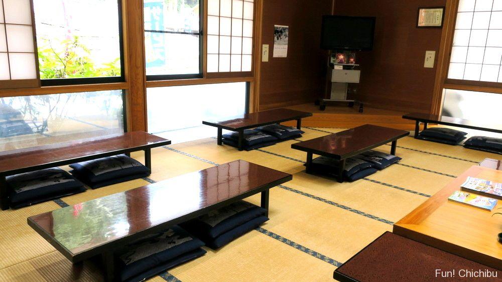 大滝温泉・遊湯館の休憩室