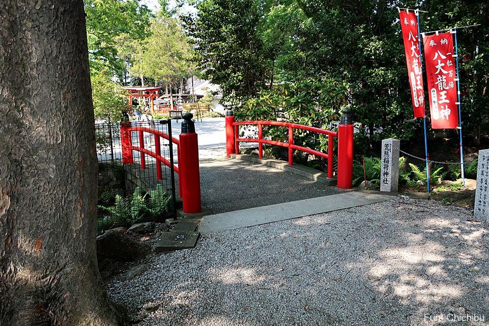 今宮神社の赤い橋