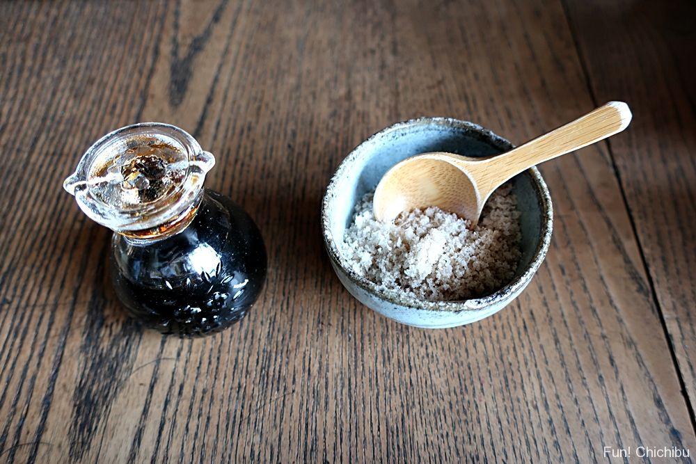 しょう油と藻塩
