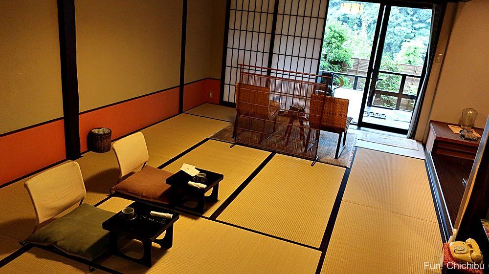 長生館の客室
