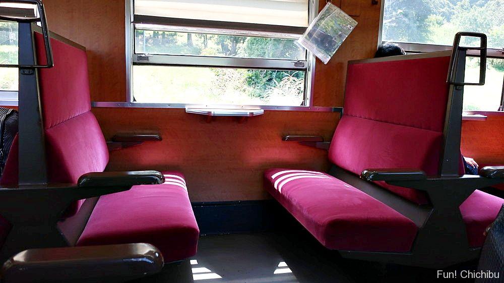 パレオエクスプレス座席