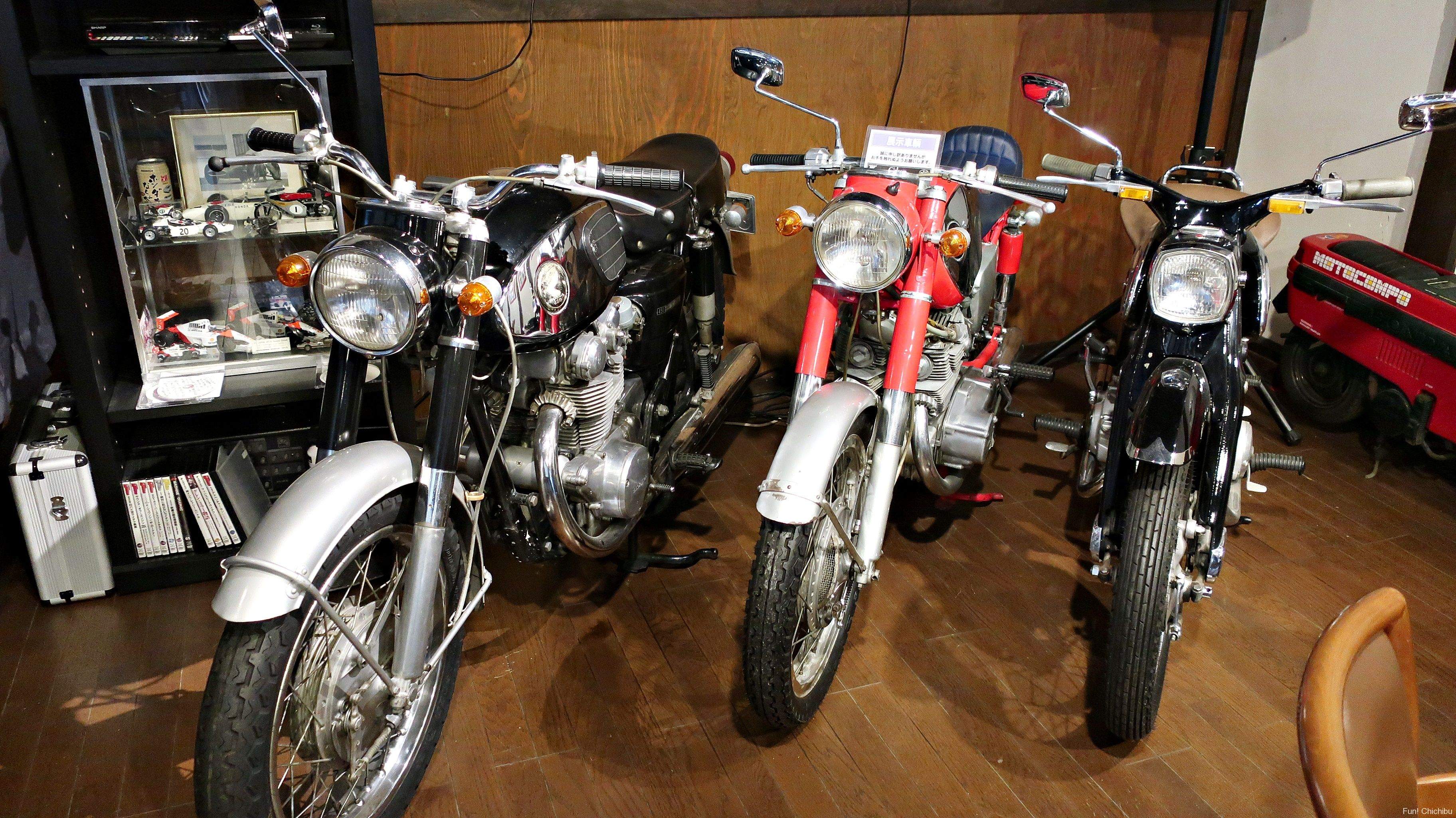 moto green cafe(モトグリーンカフェ)バイク
