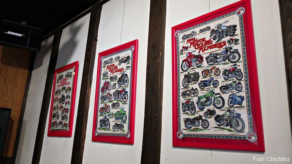 バイク関連のポスター