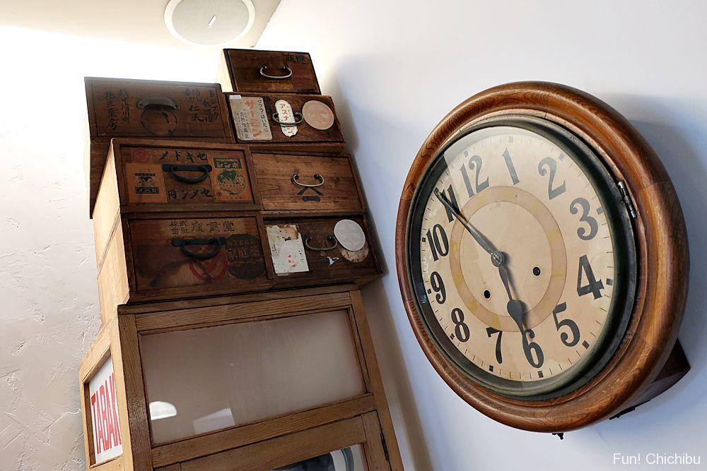 アンティーク風時計