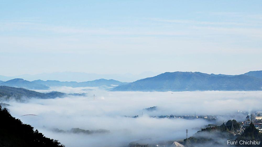 浦山ダムからの雲海