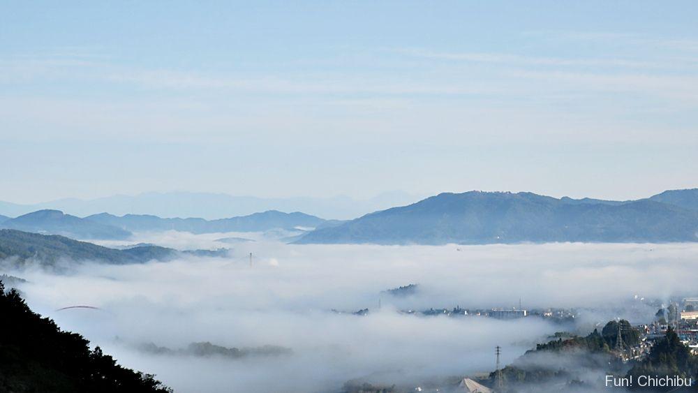 浦山ダム雲海