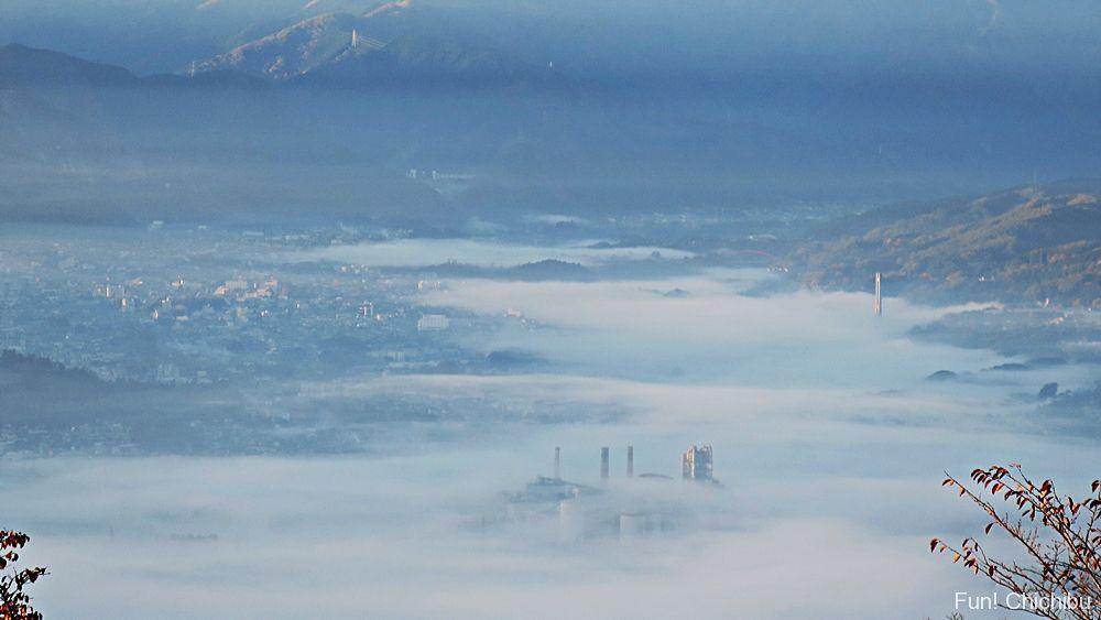 美の山公園の雲海