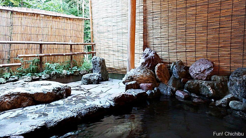 竹影の湯露天風呂