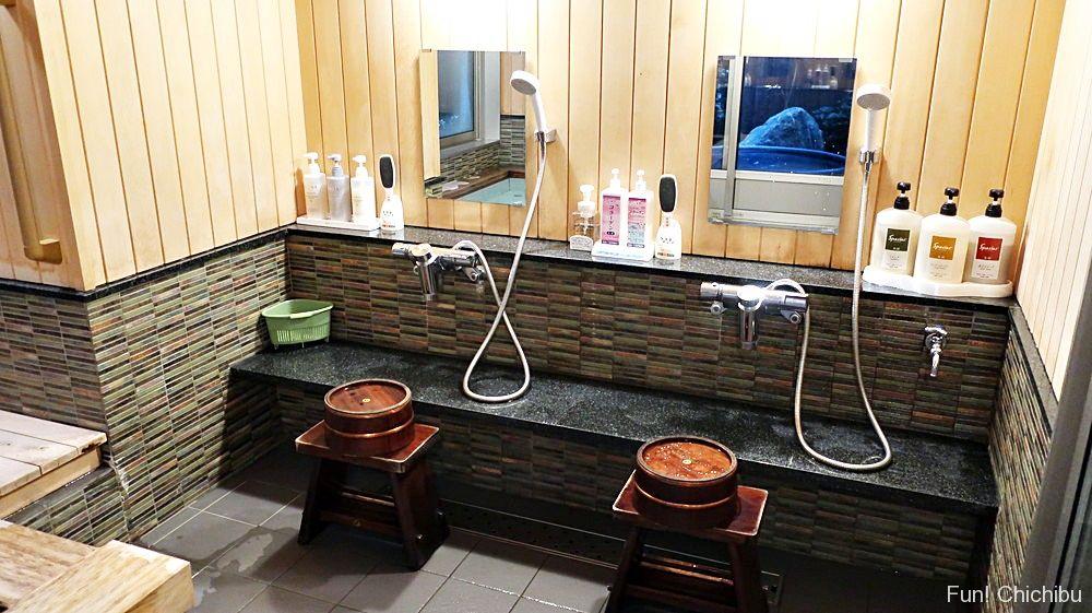 帰天の湯洗い場