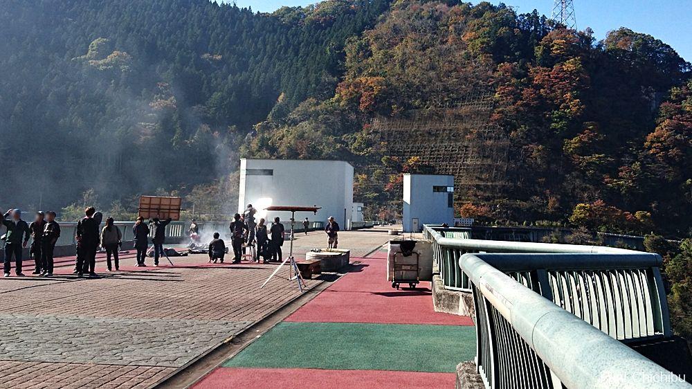 浦山ダム撮影