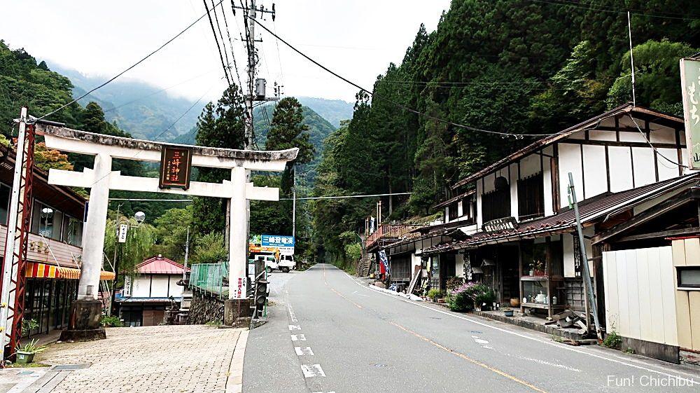三峯神社大輪参道鳥居