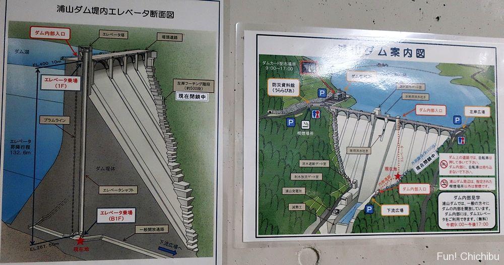 ダム断面図