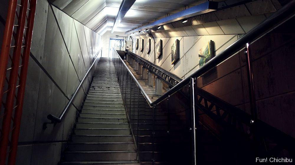 浦山ダム階段