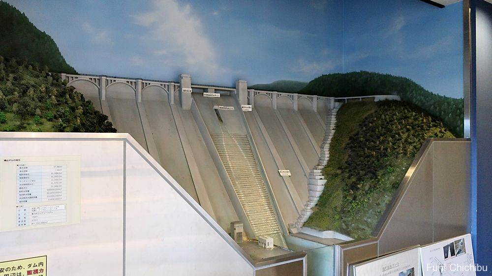 浦山ダム模型