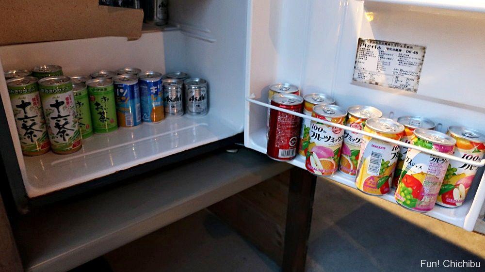 休憩スペース 冷蔵庫