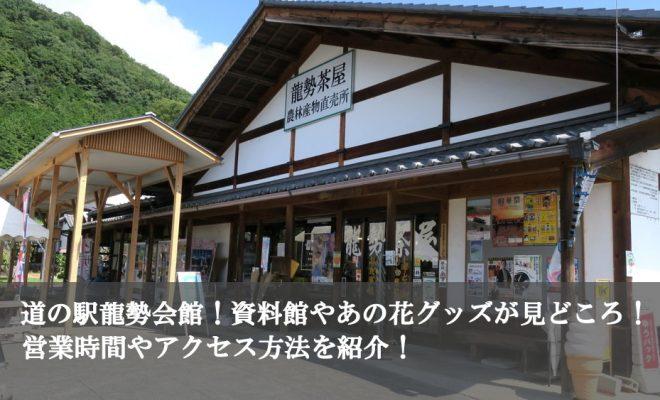 道の駅龍勢会館