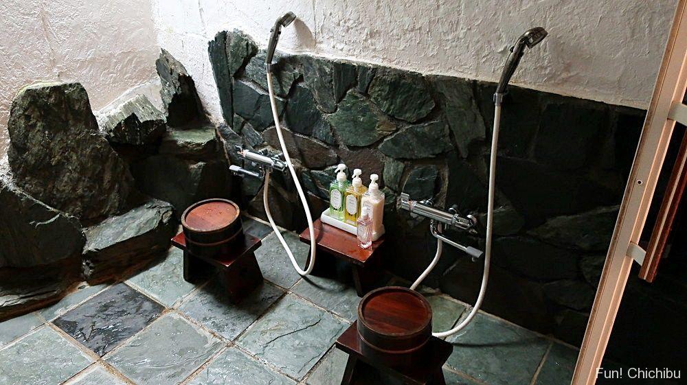 家族風呂 洗い場