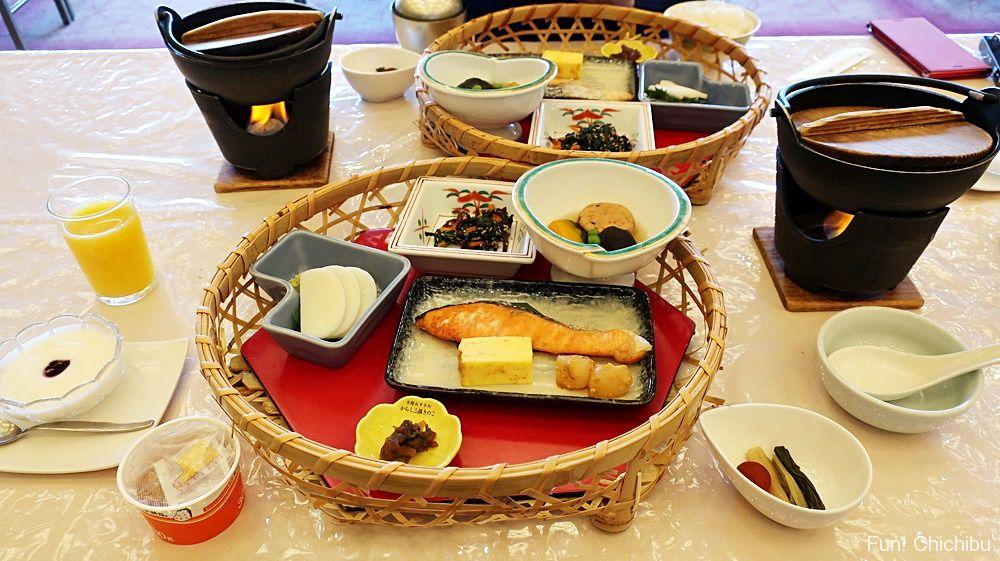ホテル美やま朝食