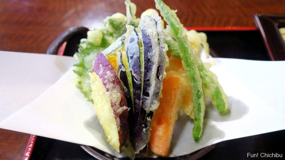 和味(なごみ)の天せいろ蕎麦