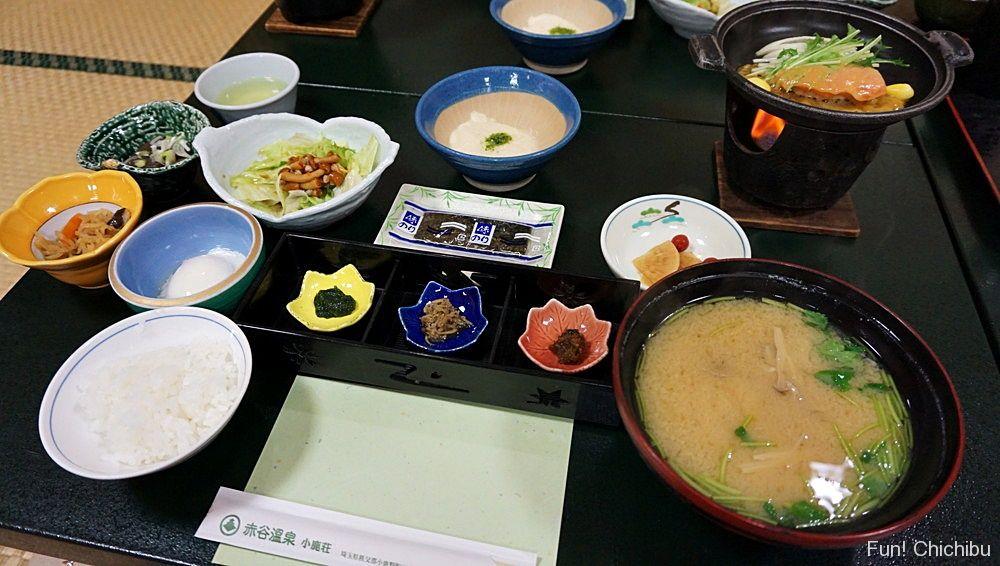 小鹿荘 朝食