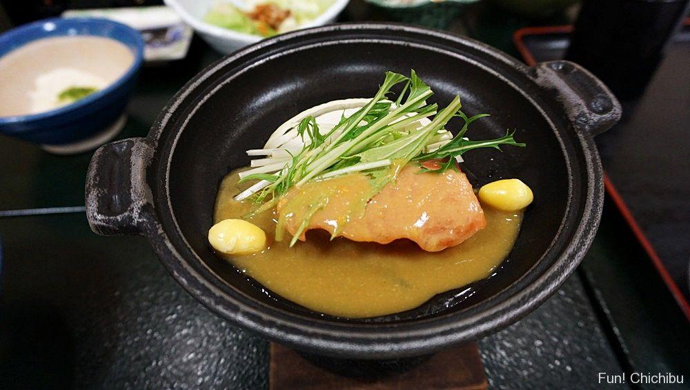 鮭田舎味噌焼き