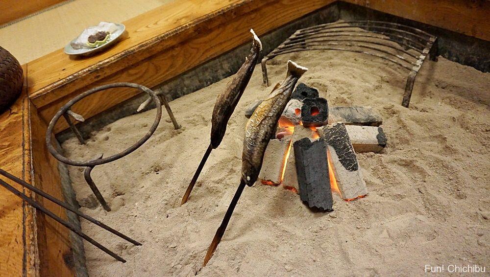 岩魚の塩焼き2