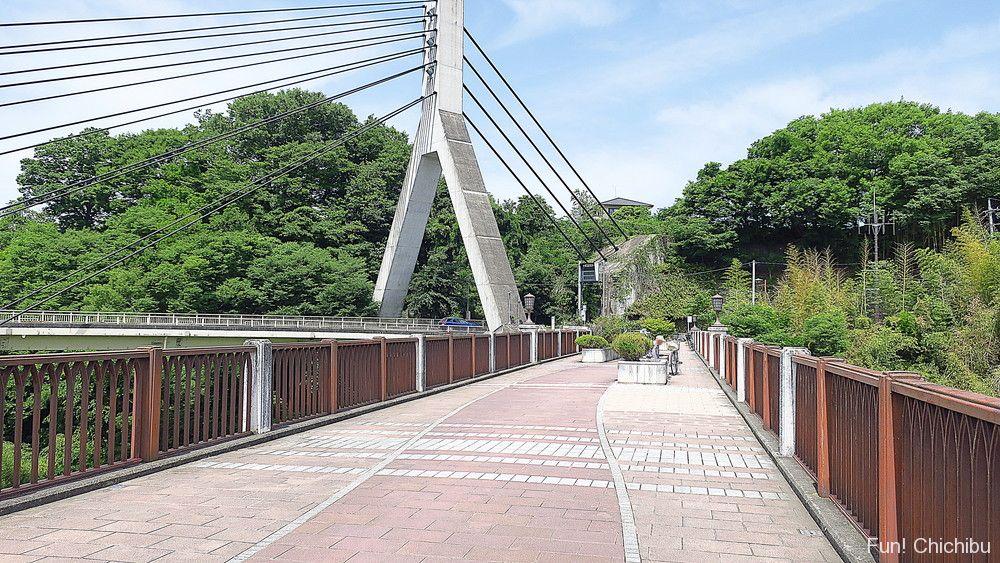 あの花 旧秩父橋