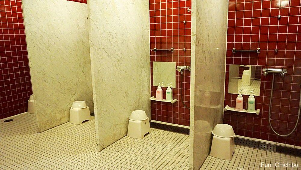 樹音の湯シャワールーム