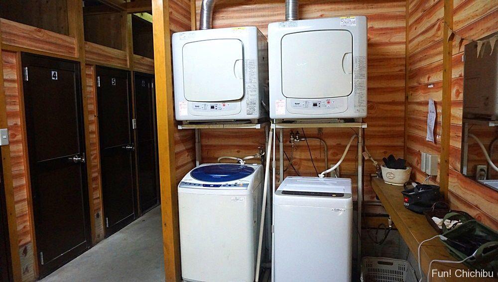 シャワールーム 洗濯機