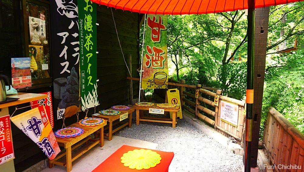 華厳の滝茶屋テラス席2