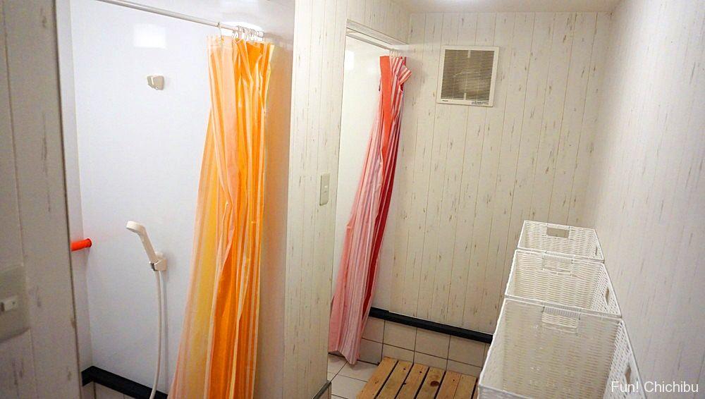 女性専用シャワールーム