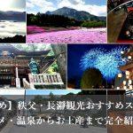【まとめ】秩父・長瀞観光おすすめスポット2018 グルメからお土産まで紹介!