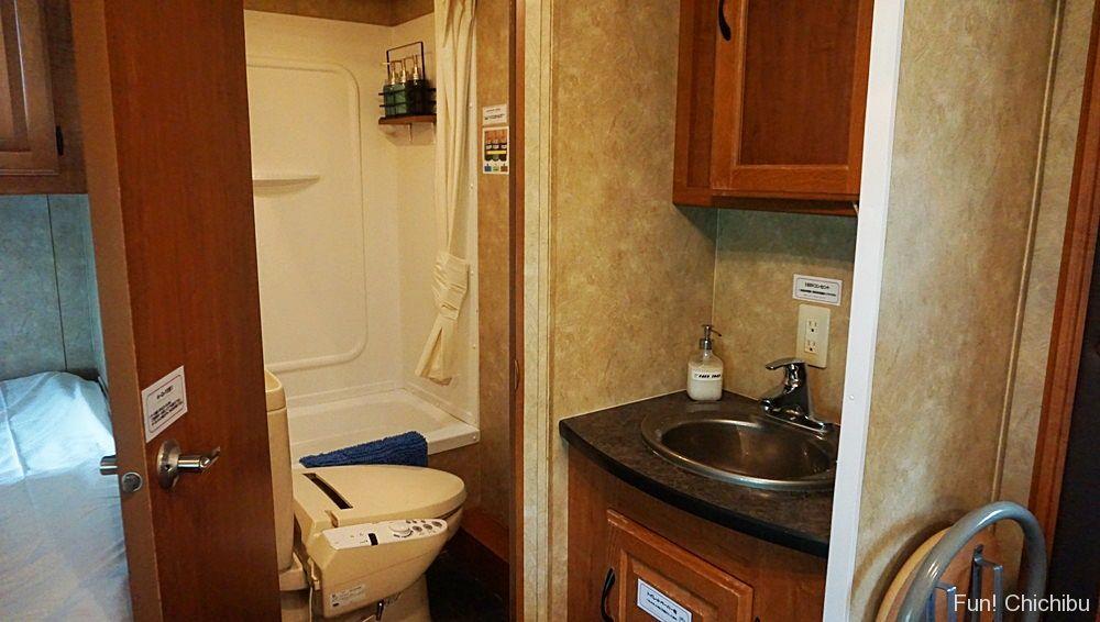 ユニットバス洗面台