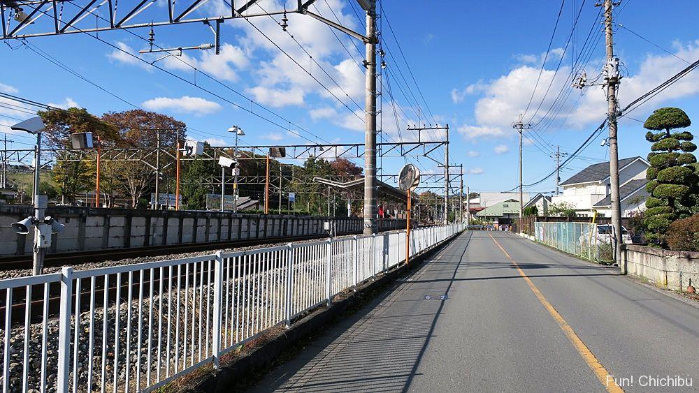 ここさけ聖地「横瀬駅」付近④