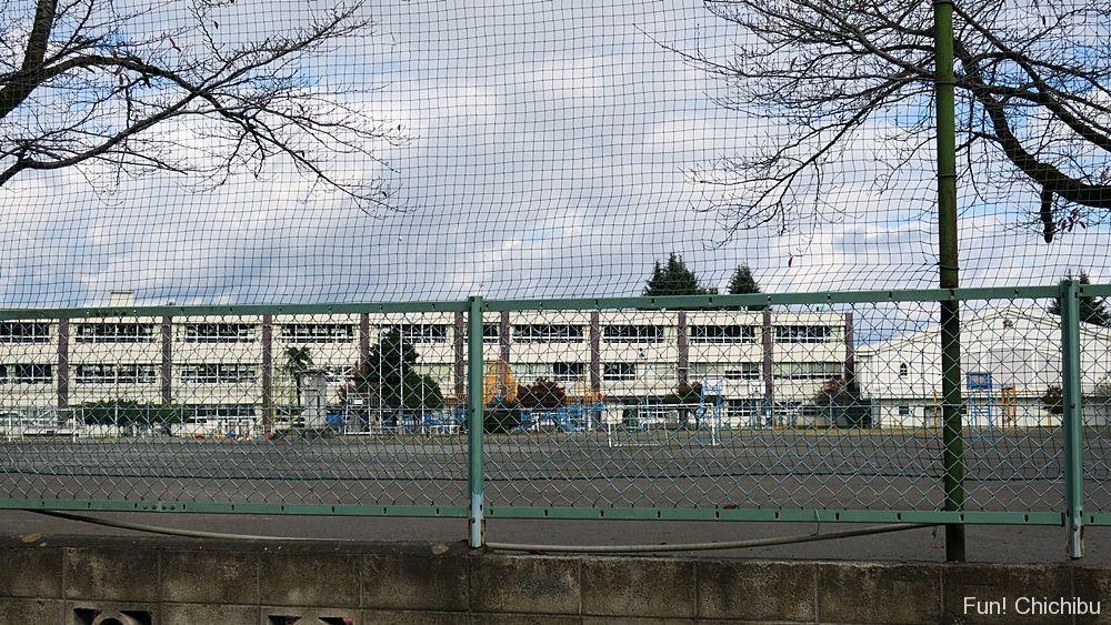 ここさけ聖地「花の木小学校」付近