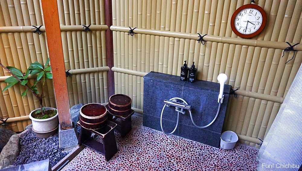 柿の湯 洗い場