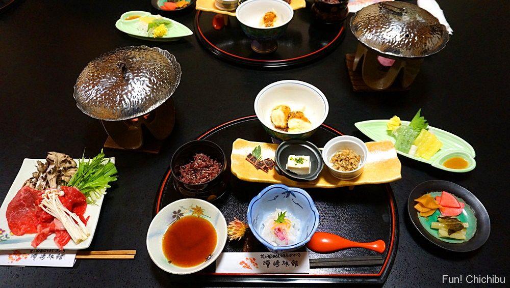 須崎旅館 夕食