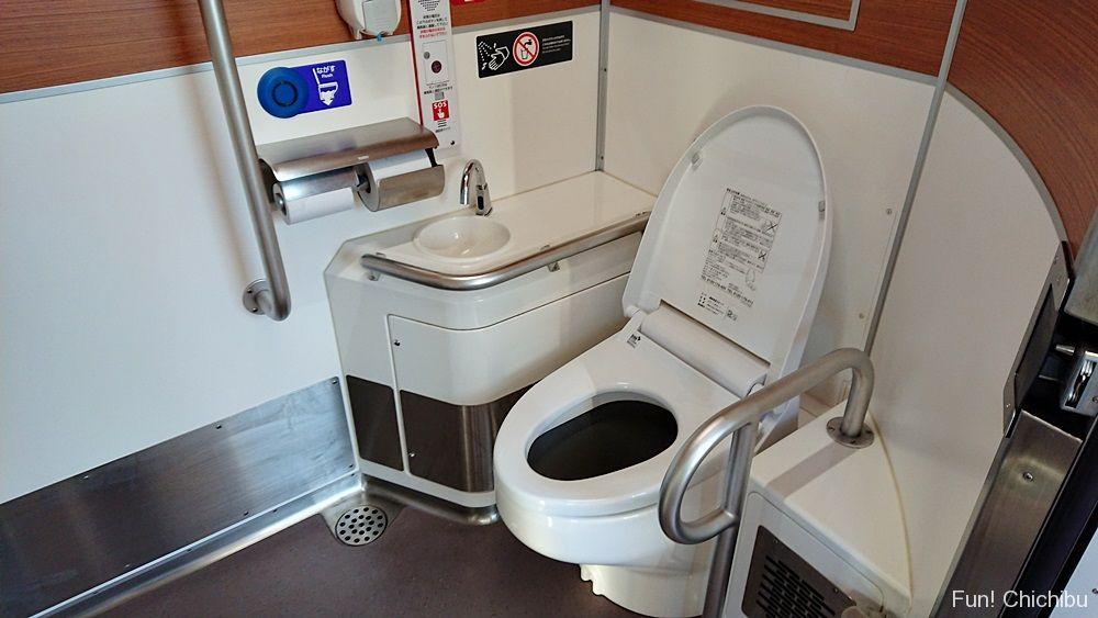 Sトレインのトイレ