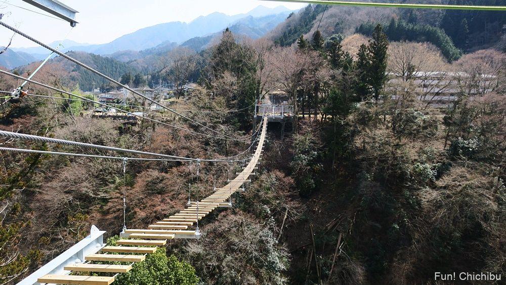 秩父ジオグラビティパークの吊り橋