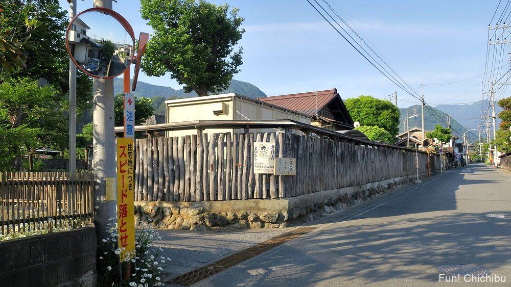 札所第27番大渕寺へ向かう路地
