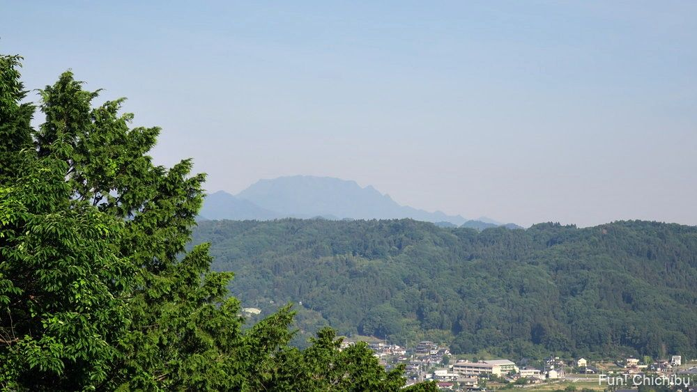 護国観音から眺める両神山