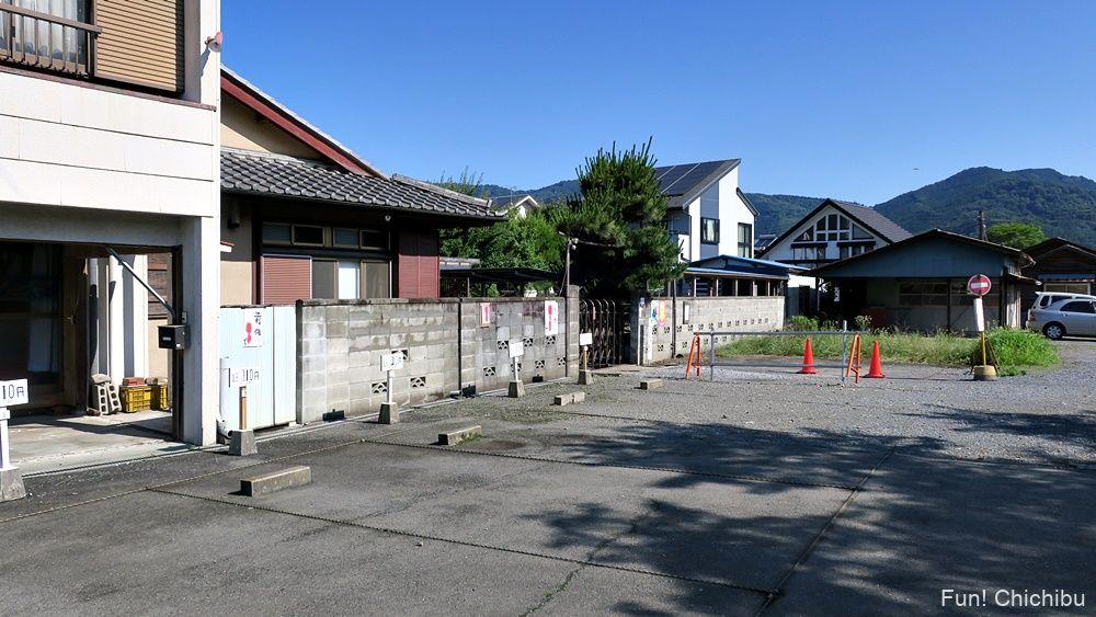 長瀞アルプス宝登山 秩父鉄道野上駅の有料駐車場